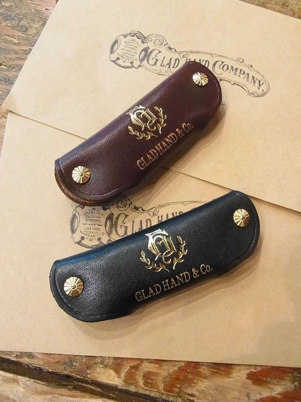 GLAD HAND   「GH LEATHER - KEY CASE  〈DOUBLE〉 」  レザーキーケース