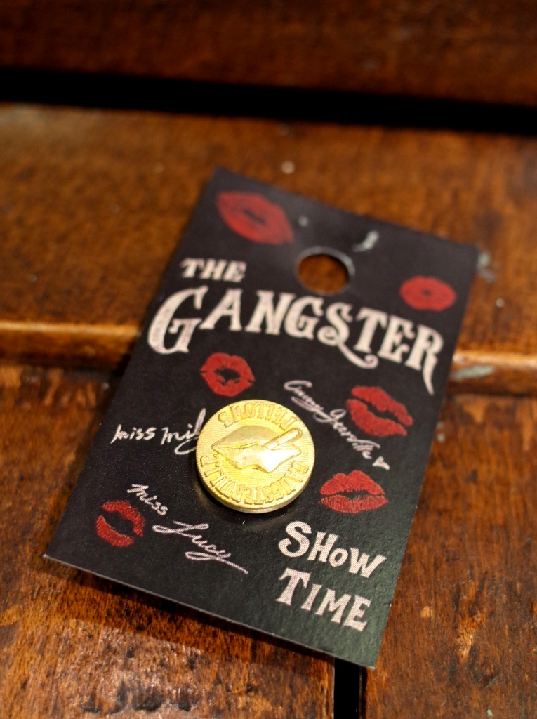 GANGSTERVILLE   「LIPS - PINS」  ピンズ