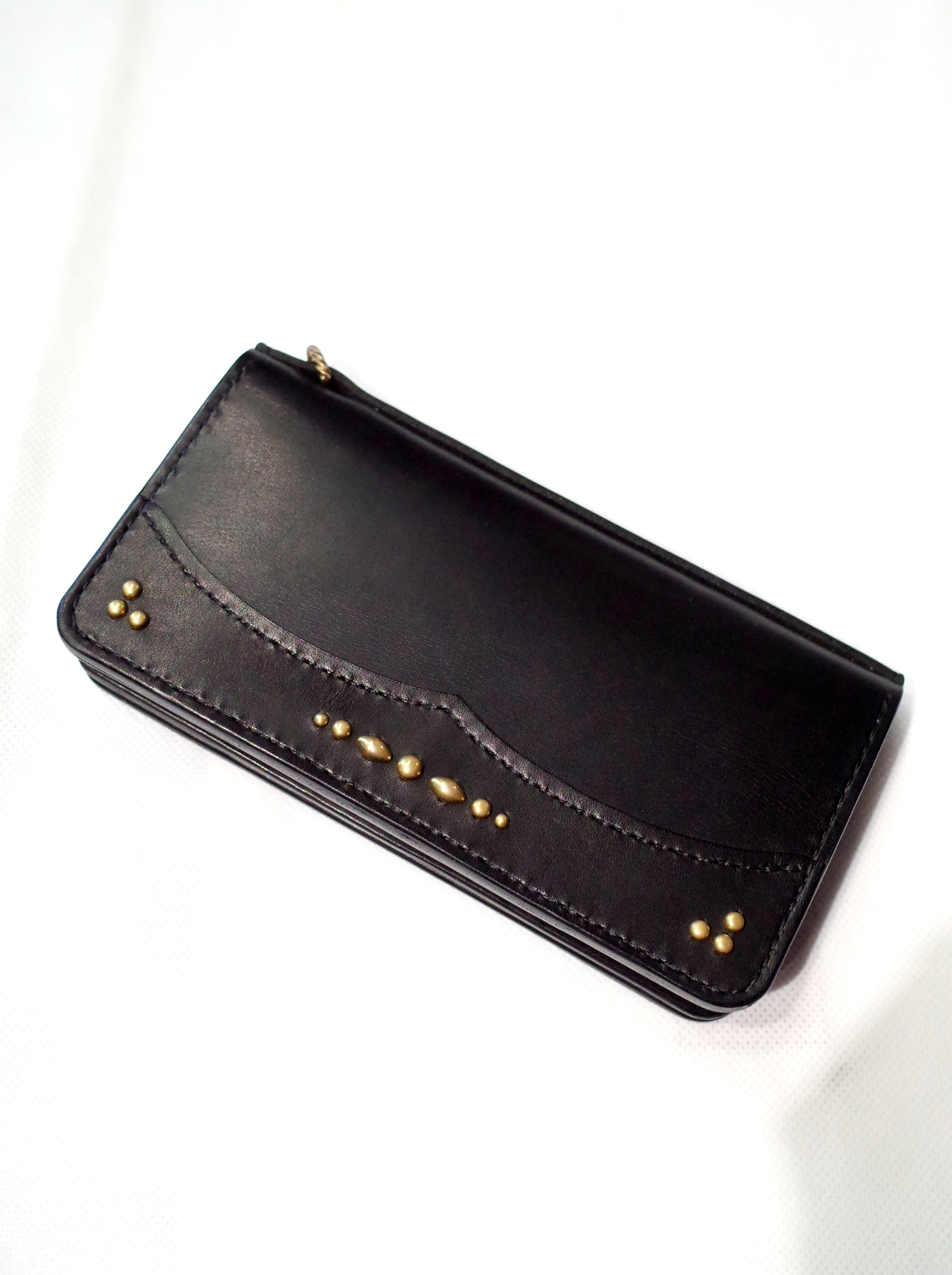 DEXTER  「 Leather Studs Long Wallet」  レザーロングウォレット