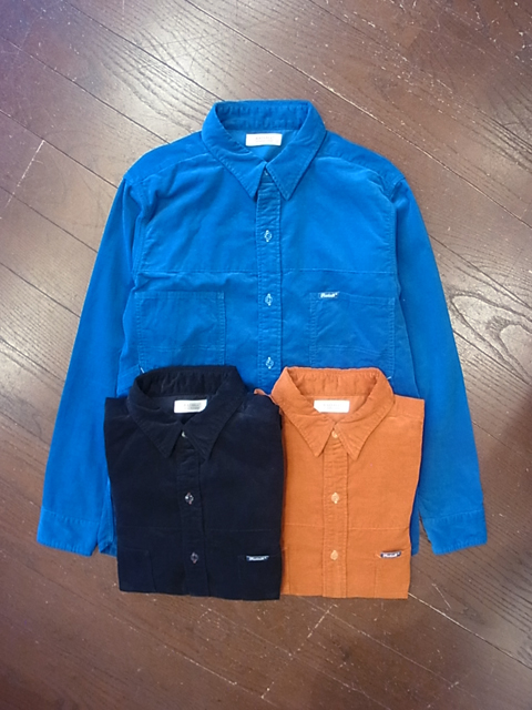 RADIALL  「 CARPENTER REGULR.C SHIRT」 コーデュロイワークシャツ