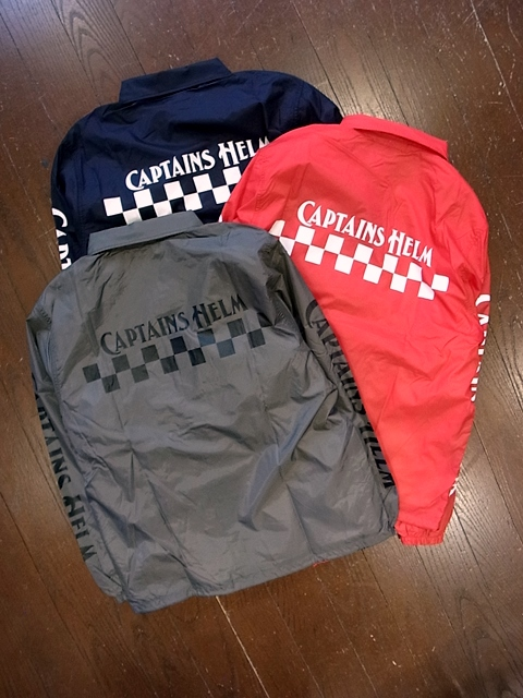 【NEW YEAR LIMITED ITEM !! 】CAPATAINS HELM 「#CH CHECKER COACH JACKET」 コーチジャケット