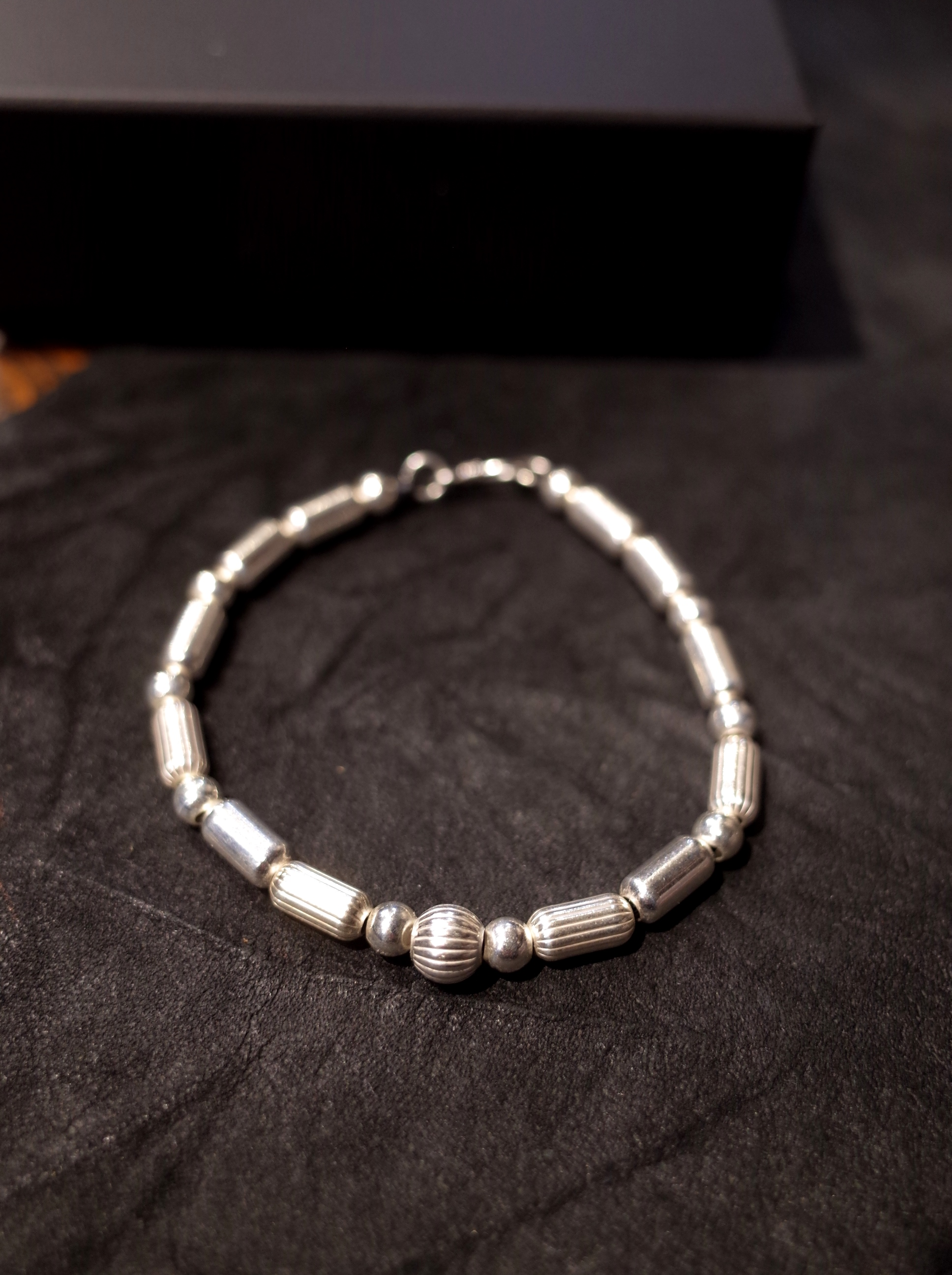 DEXTER  「SILVER BEADS NATIVE BRACELET」 SILVER ビーズブレスレット