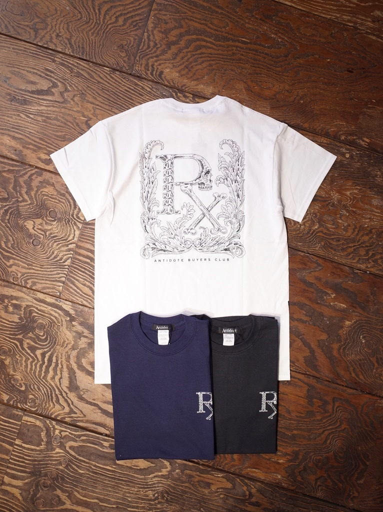ANTIDOTE BUYERS CLUB by Cootie Productions   「Print S/S Tee (ORNAMENTAL SKULL)」 プリントティーシャツ