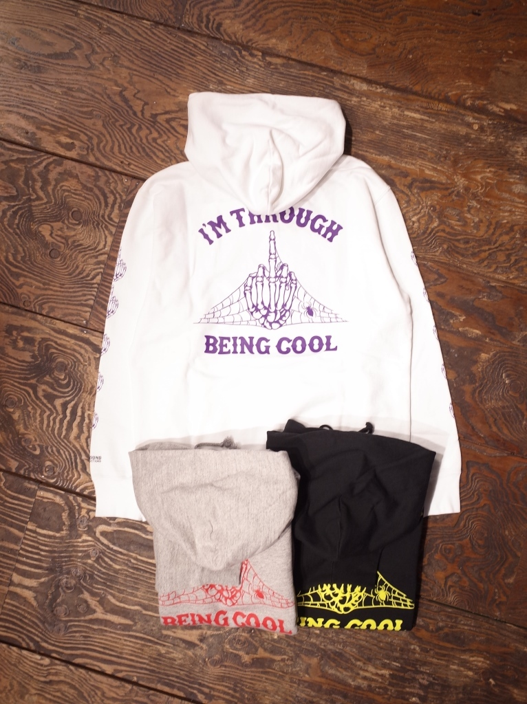 COOTIE  「 Print Pullover Parka (I'M THROUGH BEING COOL)」 プルオーバーパーカー