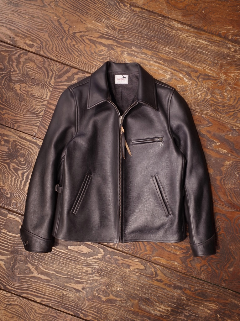 "GANGSTERVILLE    「SPORTS - JACKET ""COW HIDE""」  カウハイドレザースポーツジャケット"