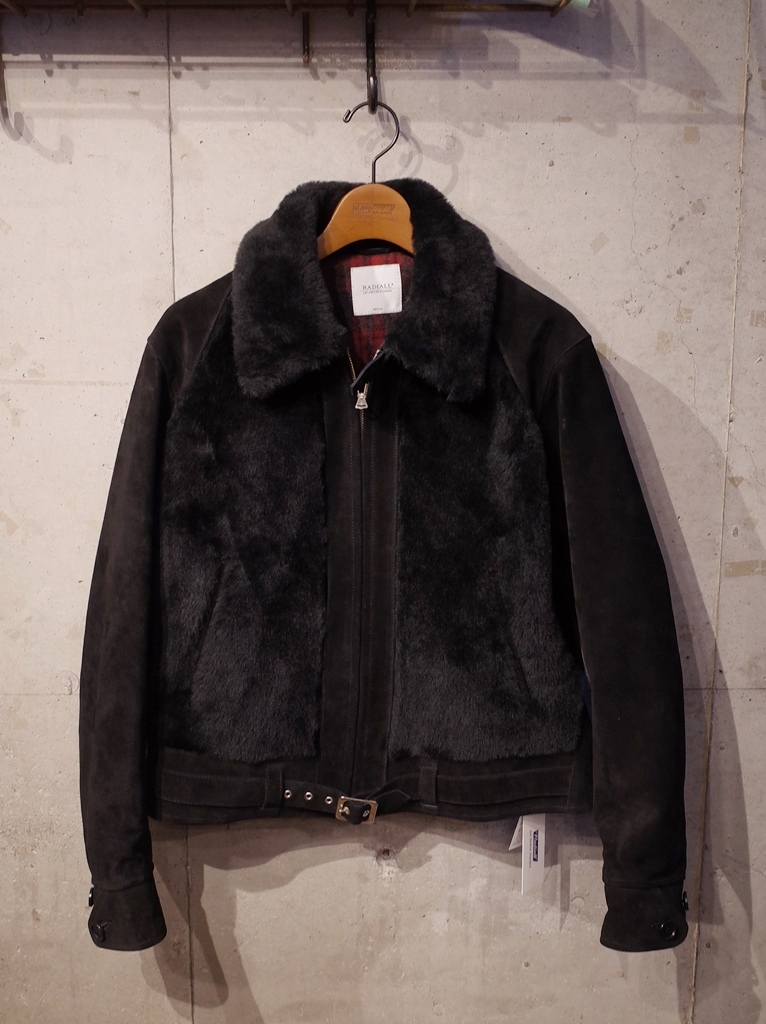 RADIALL  「NOTORIOUS GRIZZLY JACKET 〈BLACK〉 」 グリズリージャケット