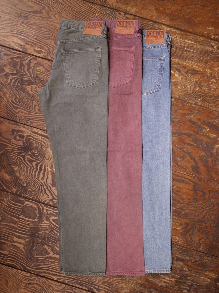 COOTIE   「 5 Pocket Color Denim 」  カラーデニムパンツ