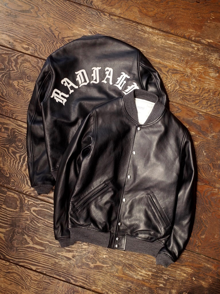 RADIALL  「FIFTEENTH AWARD JACKET 〈PATCH〉 」 レザーアワードジャケット