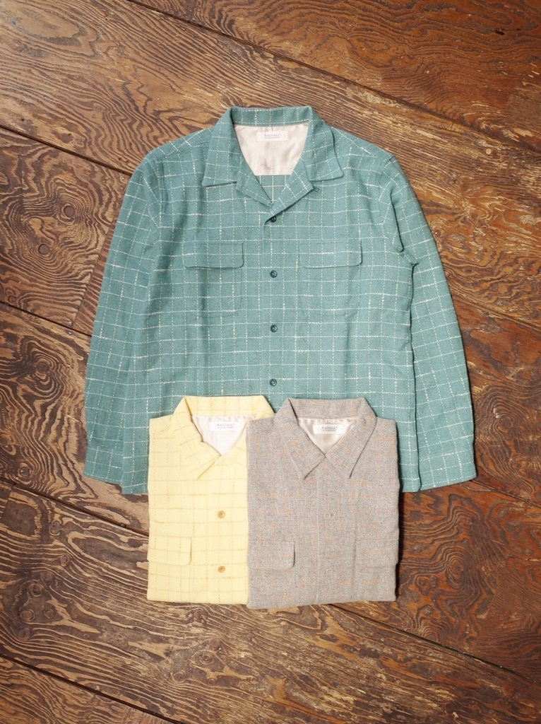 RADIALL  「 ICE COLD OPEN COLLARED SHIRT L/S」 オープンカラーシャツ