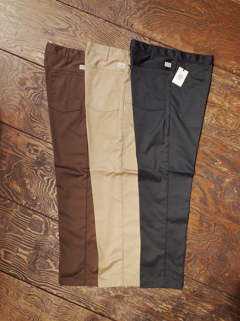 COOTIE   「T/C Tapered Work Trousers」  テーパードワークトラウザー