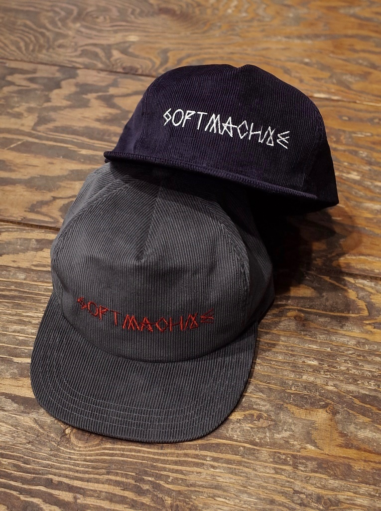 SOFTMACHINE   「INSIDE OUT CAP」   コーデュロイキャップ
