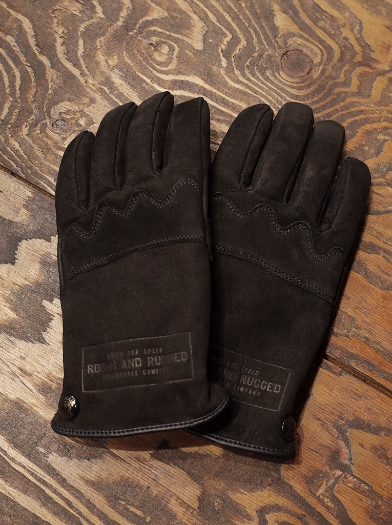 ROUGH AND RUGGED × UNCHAIN GLOVE  「UNCHAIN GLOVE」 レザーグローブ