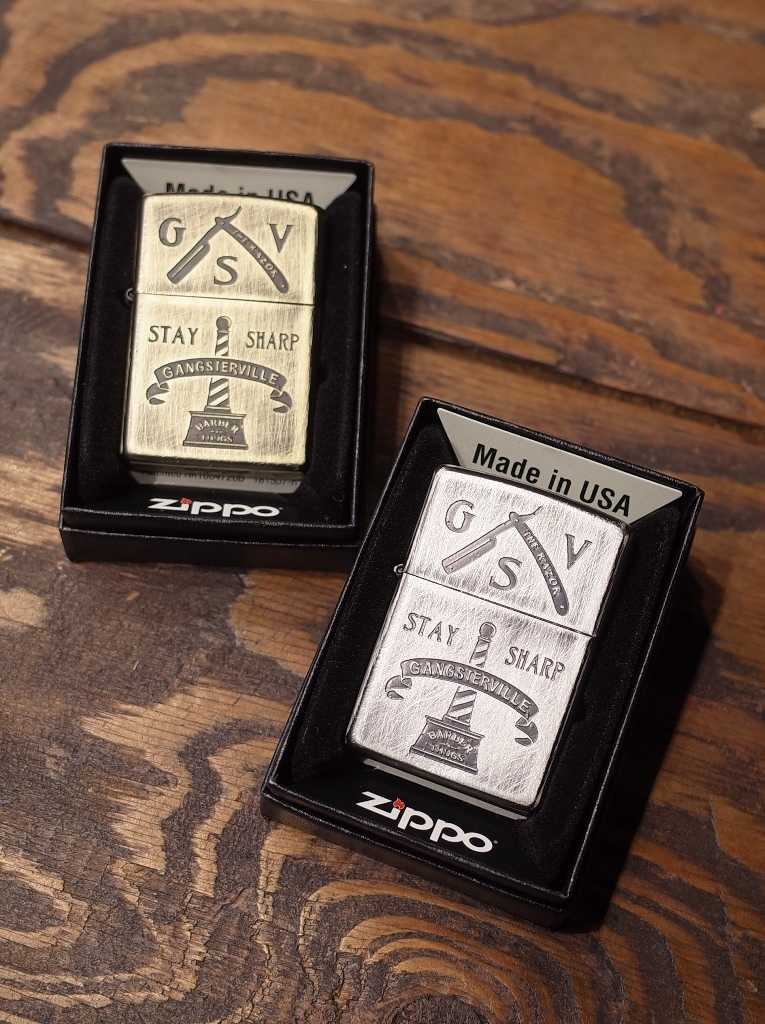 GANGSTERVILLE   「CLASSIC PARLOR −ZIPPO 〈B〉」  ZIPPOライター