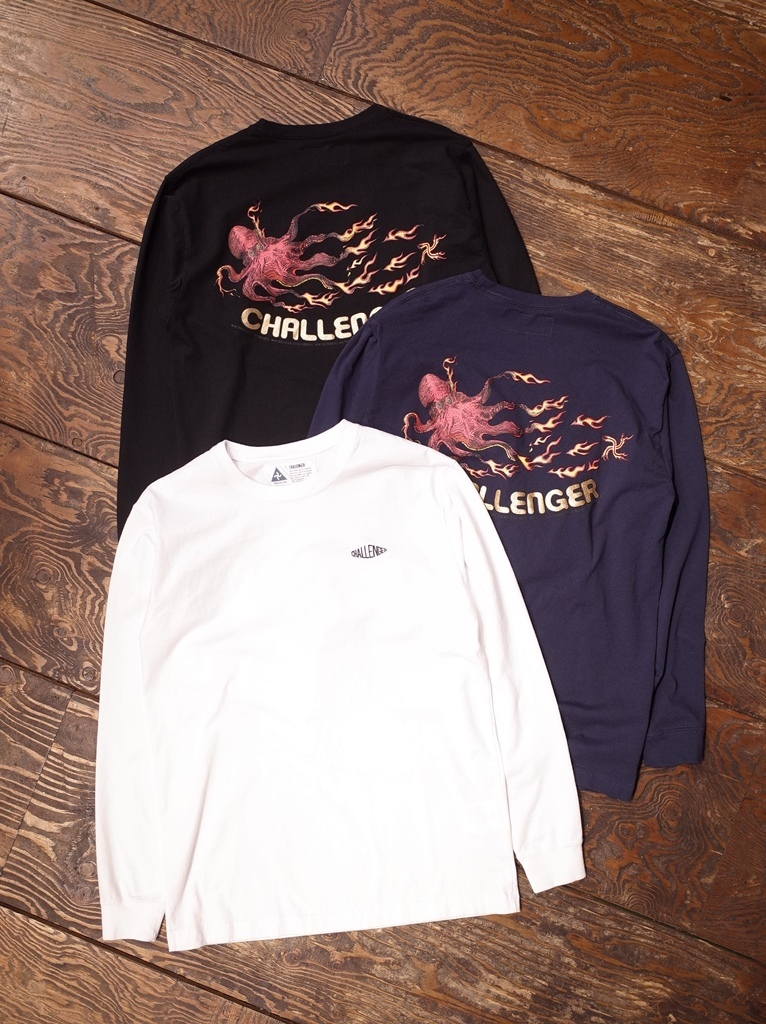【NEW YEAR LIMITED ITEM !! 】 CHALLENGER  「L/S FIRE TEE」 ロングスリーブティーシャツ