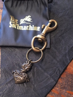 SOFTMACHINE 「MIND'S EYE KEY CHAIN」 真鍮製キーリング