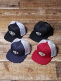 CALEE  「WAPPEN MESH CAP」 ワッペンメッシュキャップ