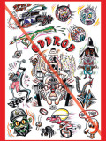 WZ LOWBROW COLLECTION   「ODDROD 」  A1サイズ ポスター