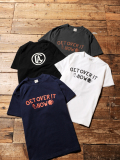 CALEE   「GET OVER T-SHIRT」 プリントティーシャツ