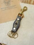 DEXTER  「Studs  Leather Key Ring」 スタッズレザーキーリング