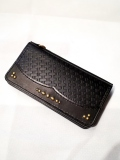 DEXTER  「Embossing Leather Studs Long Wallet」  レザーロングウォレット