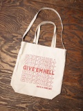 COOTIE   「 2 Way Tote Bag (GIVE' EM HELL) 」   トートバッグ