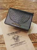 DEXTER 「Embossing Leather Studs Middle Wallet」  レザーミドルウォレット