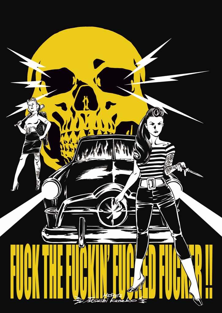 WZ LOWBROW COLLECTION  「FUCKER」  A1サイズ ポスター
