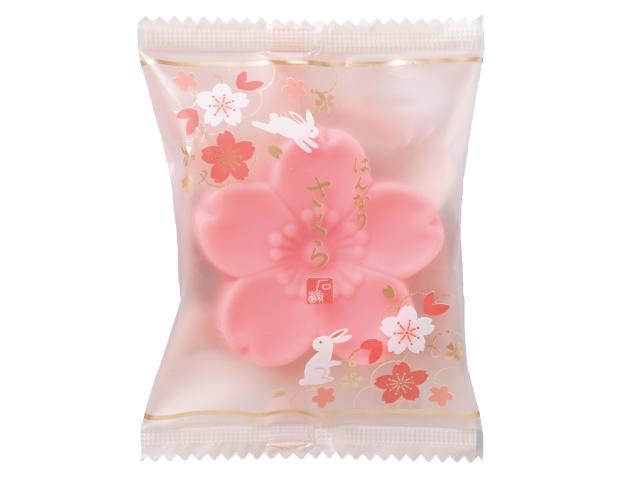 はんなりさくら石鹸 落ち着いたピンク色 HS-UP
