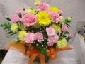 【母の日フラワーギフト】母の日オリジナルアレンジ ピンク系