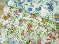 【リネンキャンバス】  Country * Flower (カントリー フラワー)