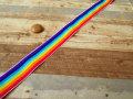 お買い得! 巾約2.5cm 『7色カラーゴム』  約5mカット