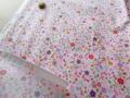 小花プリント つや消しラミネート(ピンク系) 約50cmカット