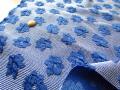 アウトレット!合繊フクレジャガード〈プリンセスブルー〉 約2mカット