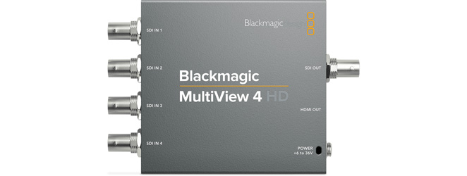 MultiView 4 HD   (Blackmagicdesign)