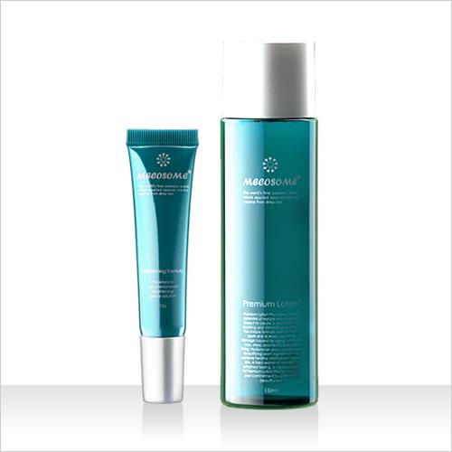 基礎化粧品セット「潤白2ステップ」(シミ取り+酵素化粧水)