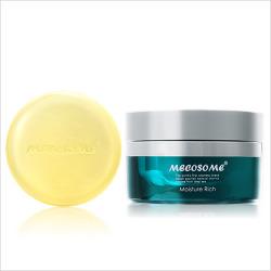 基礎化粧品セット「潤白2ステップ」(酵素石鹸+美容保湿)
