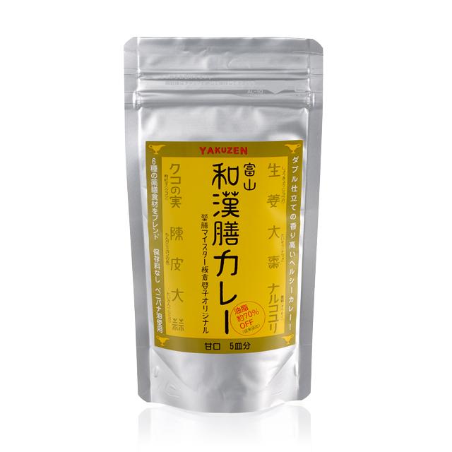 富山和漢膳カレー(中辛)100g