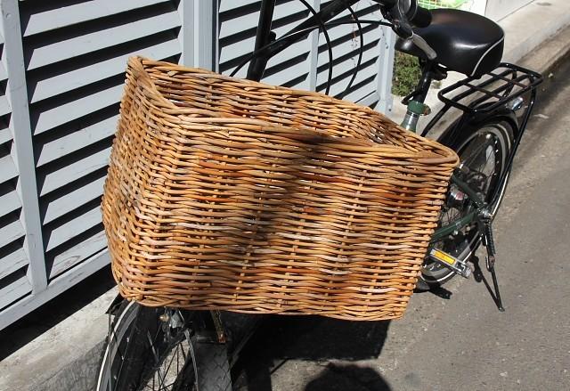 自転車バスケット L