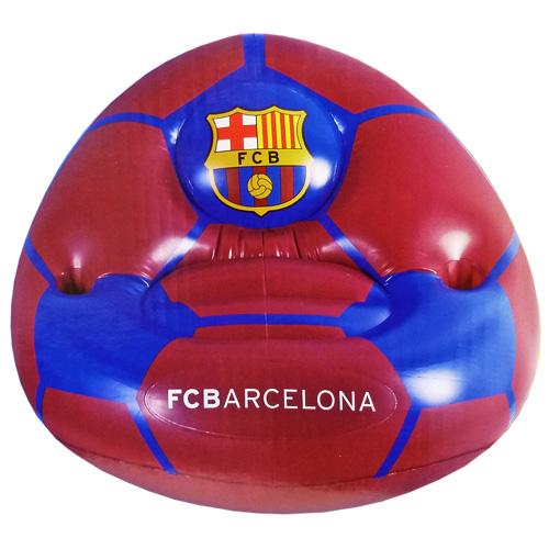 FCバルセロナ インフレタブルチェア (楕円型)