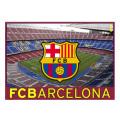 【メール便可】 FCバルセロナ フラッグ カンプノウ