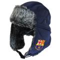 FCバルセロナ ジャージートラッパーハット (ネイビー)