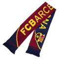 FCバルセロナ ニットマフラー (ネイビー/レッド) BCN29150