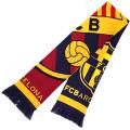 FCバルセロナ ニットマフラー (クレスト)