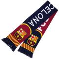 FCバルセロナ ニットマフラー (ネイビー/レッド)