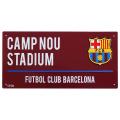 【再入荷】 FCバルセロナ ストリートサイン (カラー)