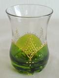 ミントティーグラス緑