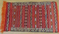 モロッコラグ 赤
