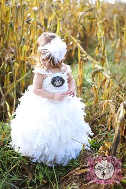 色が選べる☆レーストップエンジェルフェザードレス【Angels Feathers on My Dress】1歳から10歳