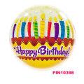 ハッピーバースデー!丸型バースデーバルーン★バースデーキャンドル&フロスティング【29L】♪お誕生日は風船でいっぱいに!!
