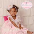 かけがえのないプリンセスのためのドレス「Be My Sunshine Baby Princess Dress」0歳から4歳